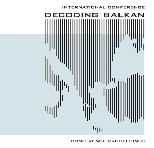 BAB19:Decoding Balkan: Architecture, Urbanism, Planning